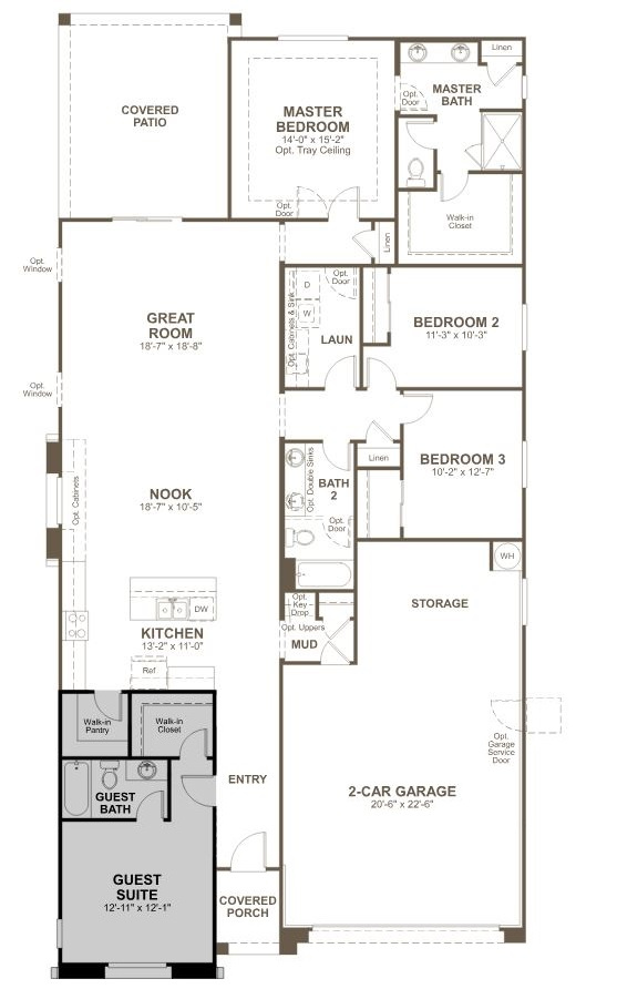 Raleigh Model by Richmond American Homes - Phoenix AZ Real ... on regent homes floor plans, warehouse homes floor plans, quadrant homes floor plans, wausau homes floor plans, shelby homes floor plans, huff homes floor plans,